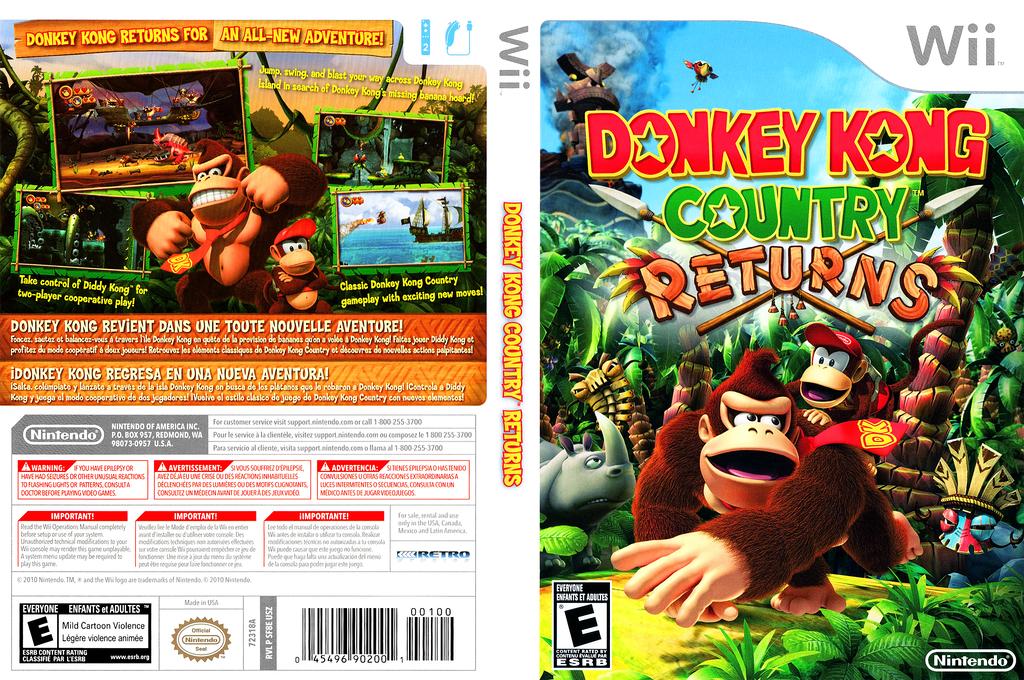 Donkey Kong Country Returns Wii coverfullHQ (SF8E01)