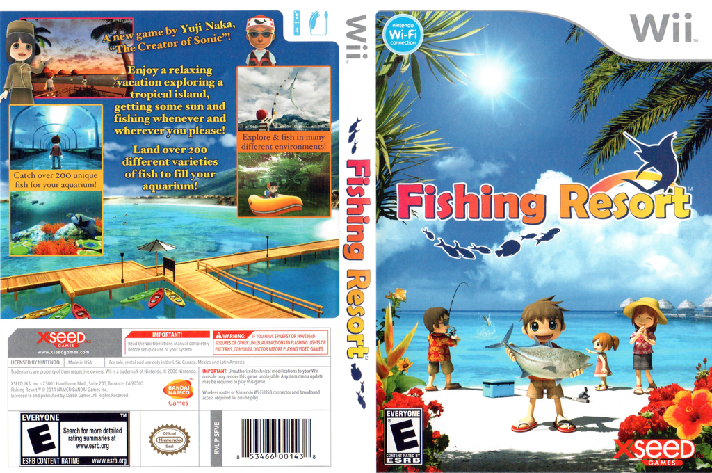 Fishing Resort Wii coverfullHQ (SFVEXJ)