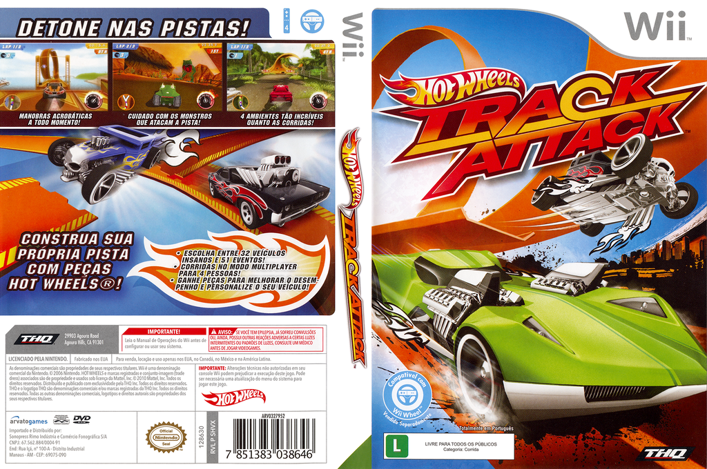 Hot Wheels: Track Attack Wii coverfullHQ (SHVX78)