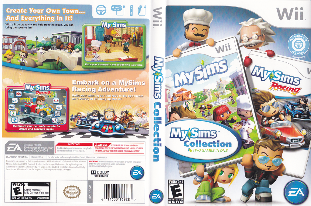 MySims Collection Wii coverfullHQ (SIME69)