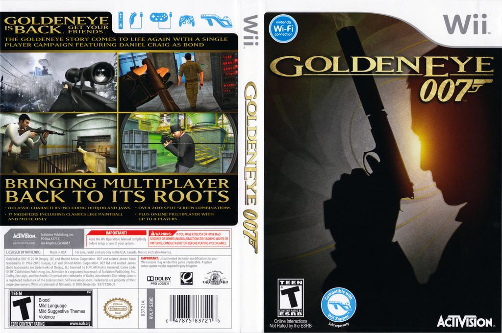 GoldenEye 007 Wii coverfullHQ (SJBE52)