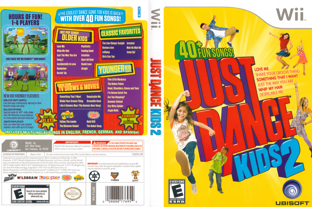 Just Dance Kids 2 Wii coverfullHQ (SJZE41)