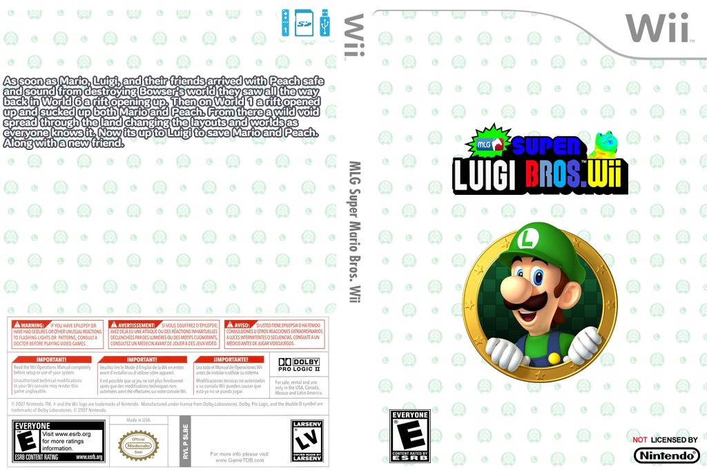 MLG Super Luigi Bros Wii Wii coverfullHQ (SLBE01)