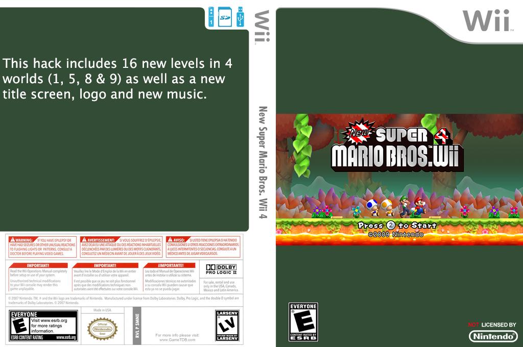 New Super Mario Bros. Wii 4 Wii coverfullHQ (SMNE11)