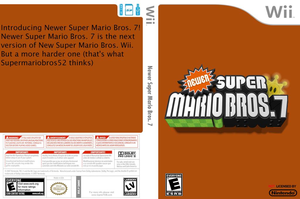 Newer Super Mario Bros. 7 Wii coverfullHQ (SMNE15)