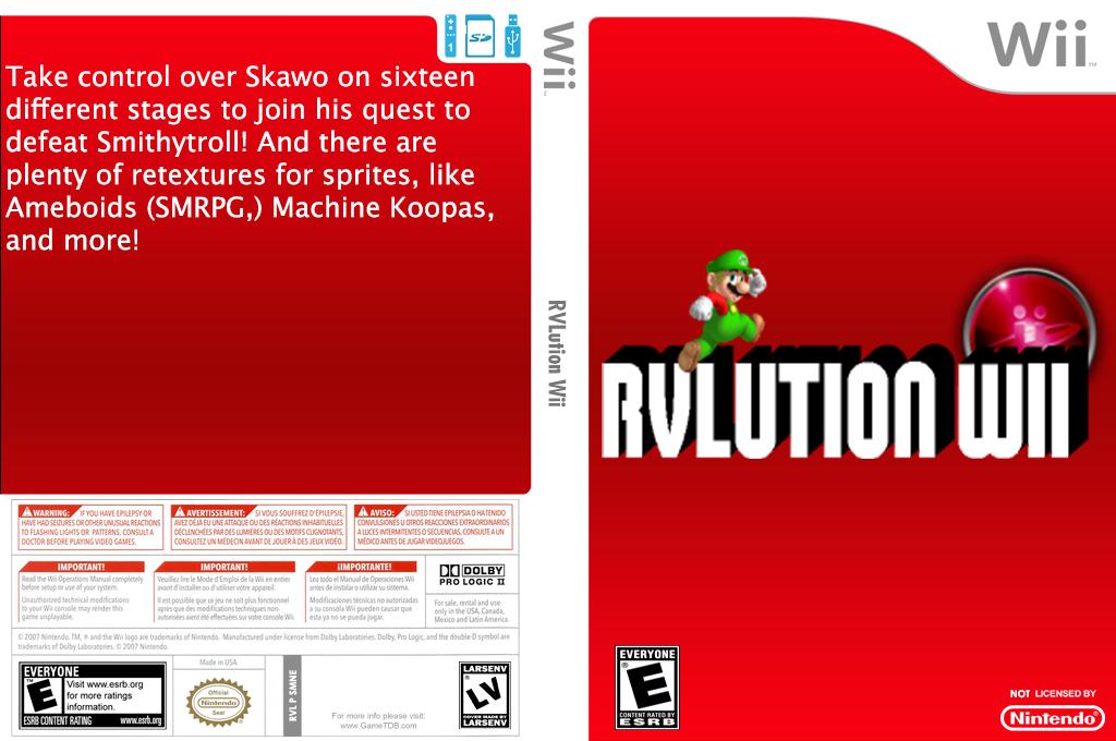 RVLution Wii Wii coverfullHQ (SMNERV)