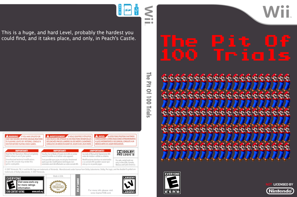 The Pit of 100 Trials 1-20 Wii coverfullHQ (SMNEZP)