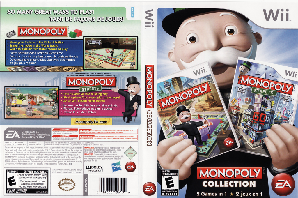 Monopoly Collection Wii coverfullHQ (SMPE69)