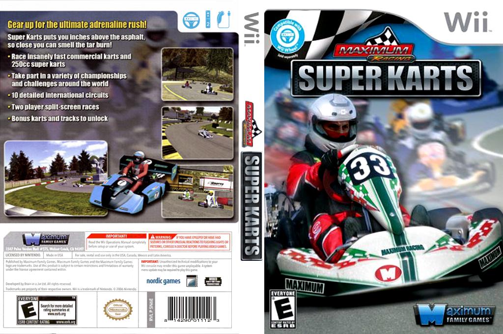 Maximum Racing: Super Karts Wii coverfullHQ (SN6EYG)