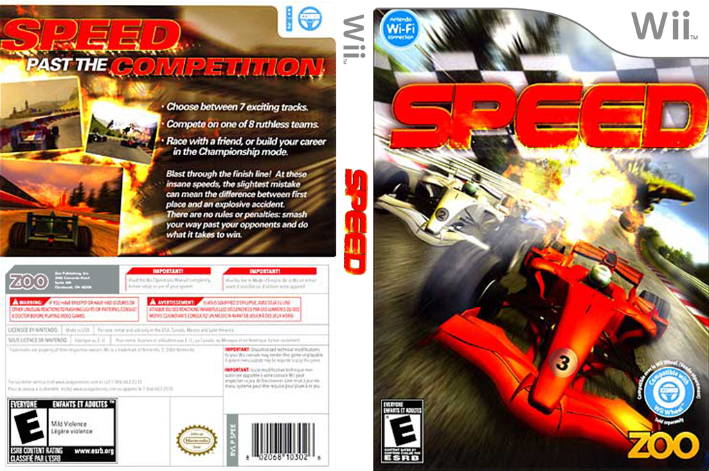Speed Wii coverfullHQ (SPEE20)