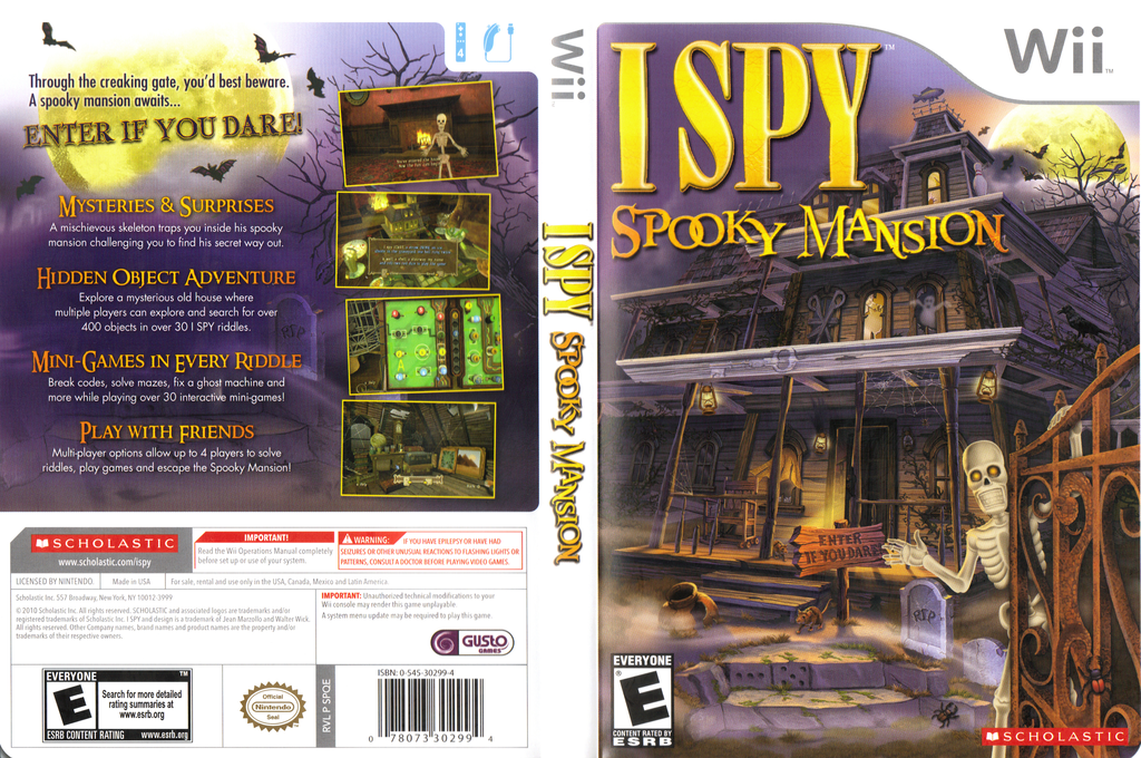 I SPY Spooky Mansion Wii coverfullHQ (SPQE7T)