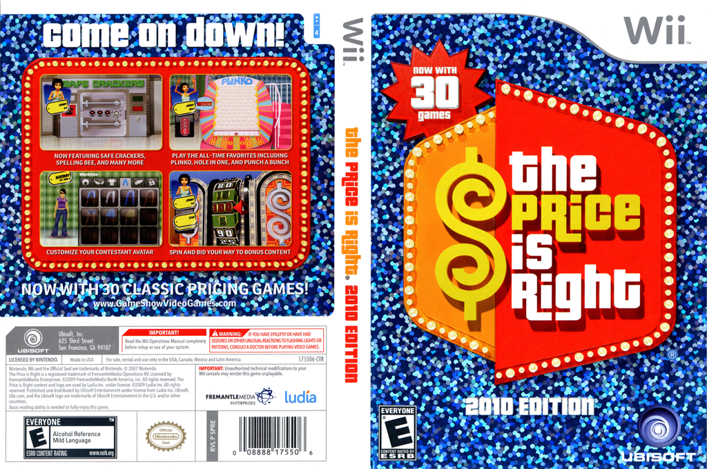 The Price Is Right: 2010 Edition Wii coverfullHQ (SPRE41)