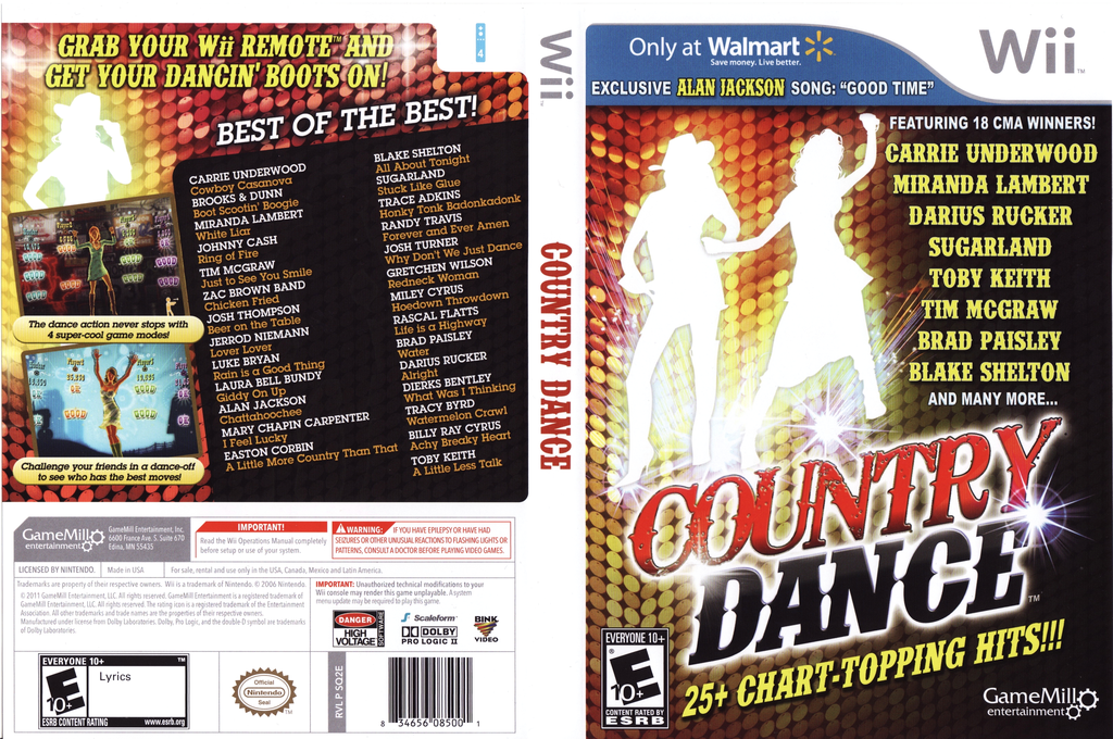 Country Dance Wii coverfullHQ (SQ2EPZ)