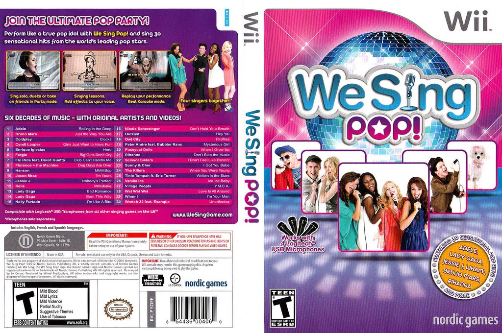 We Sing Pop! Wii coverfullHQ (SQEENG)