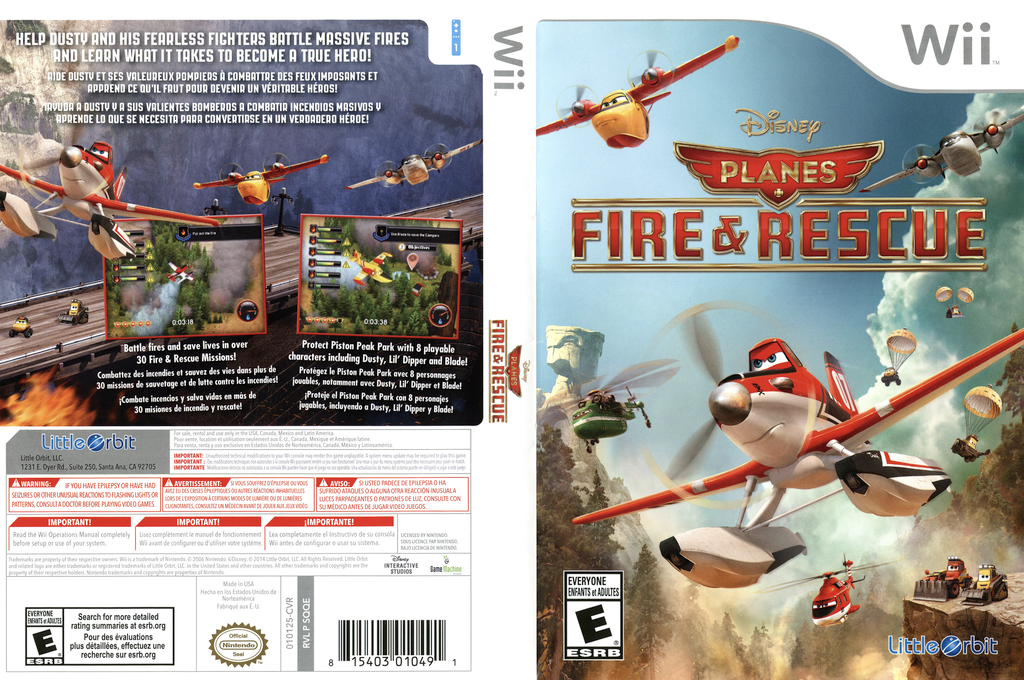 Disney Planes: Fire & Rescue Wii coverfullHQ (SQQEVZ)