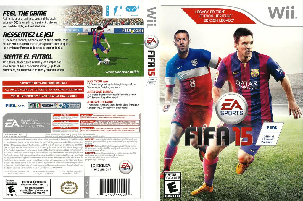 FIFA 15 Wii coverfullHQ (SQVE69)