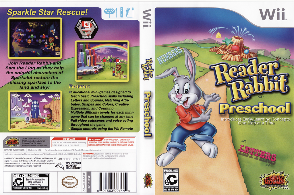 Reader Rabbit Preschool Wii coverfullHQ (SR9EHG)
