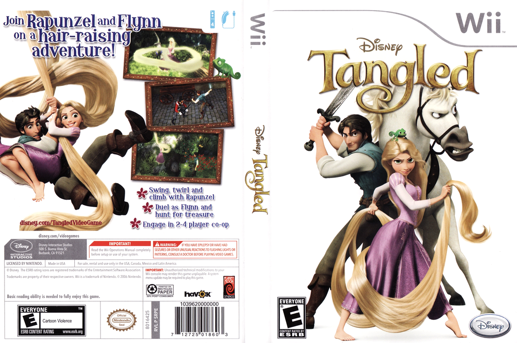 Disney Tangled Wii coverfullHQ (SRPE4Q)