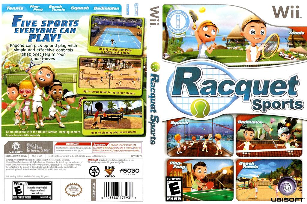 Racquet Sports Wii coverfullHQ (SRQE41)