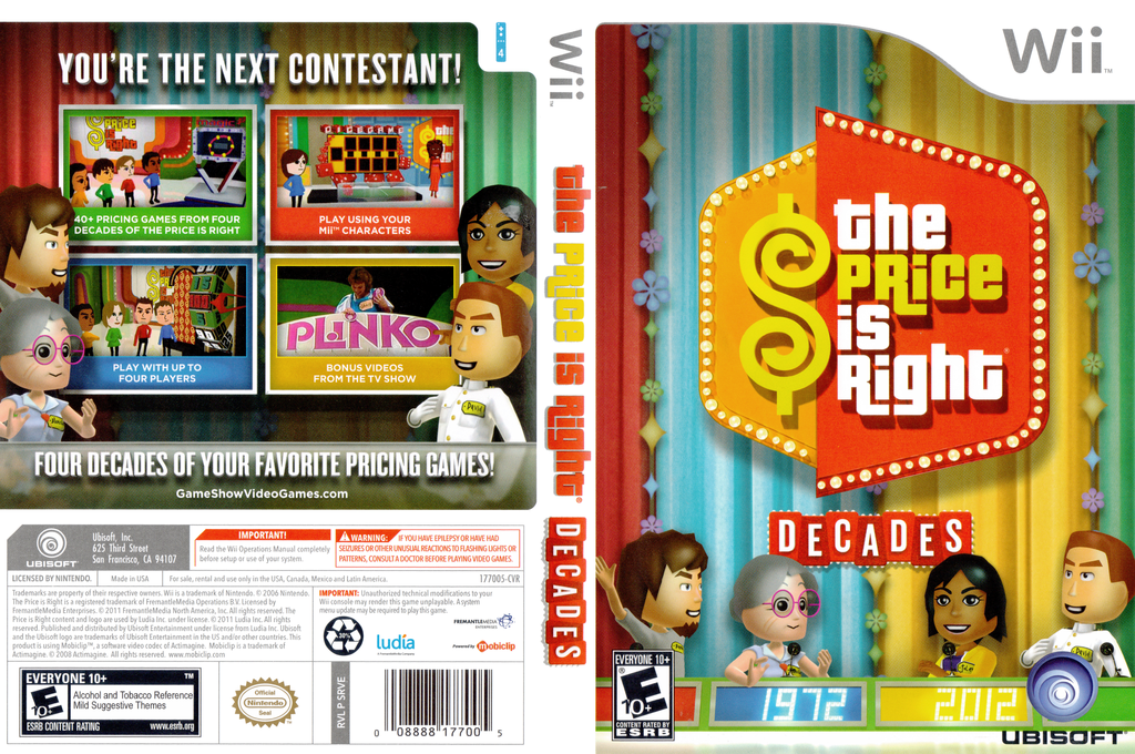 The Price Is Right Decades Wii coverfullHQ (SRVE41)