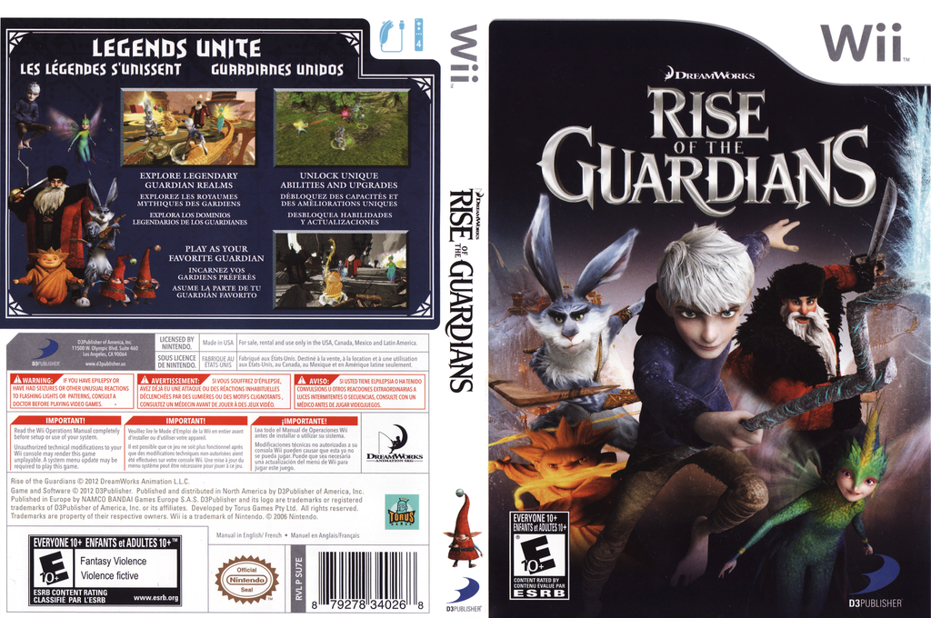 Rise of the Guardians Wii coverfullHQ (SU7EG9)