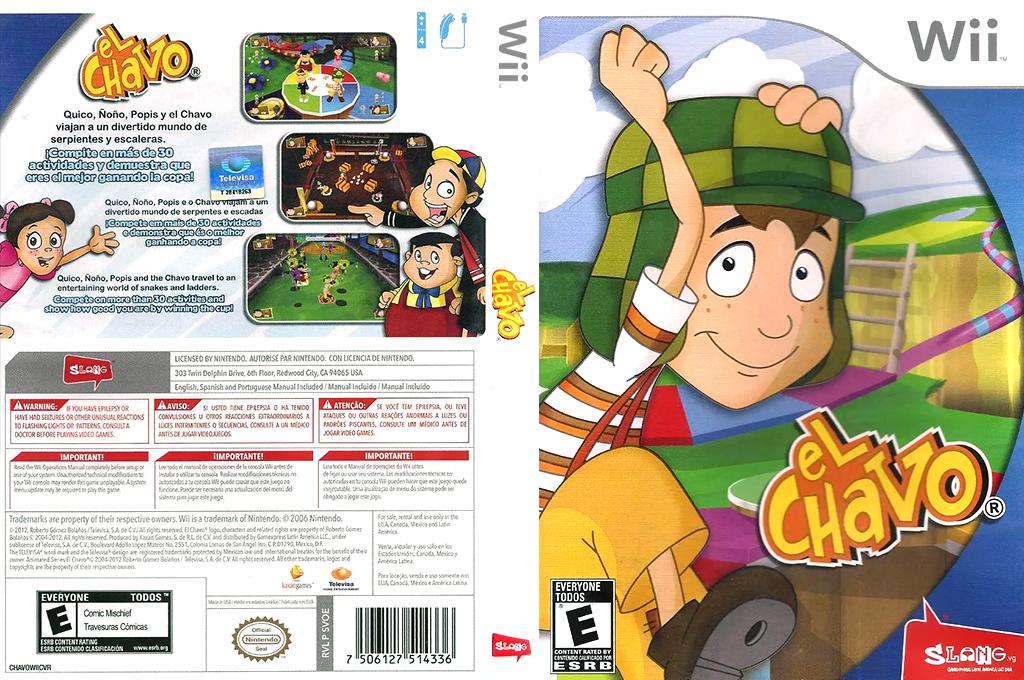 El Chavo Wii coverfullHQ (SVOEWW)