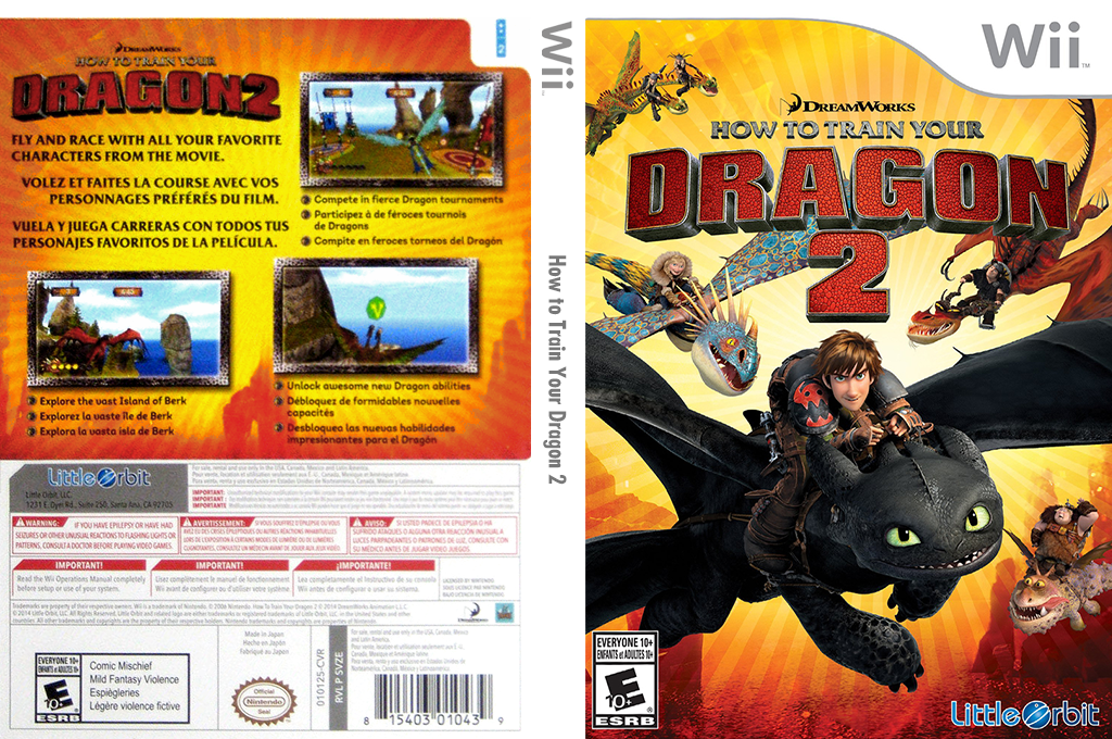 How to Train Your Dragon 2 Wii coverfullHQ (SVZEVZ)
