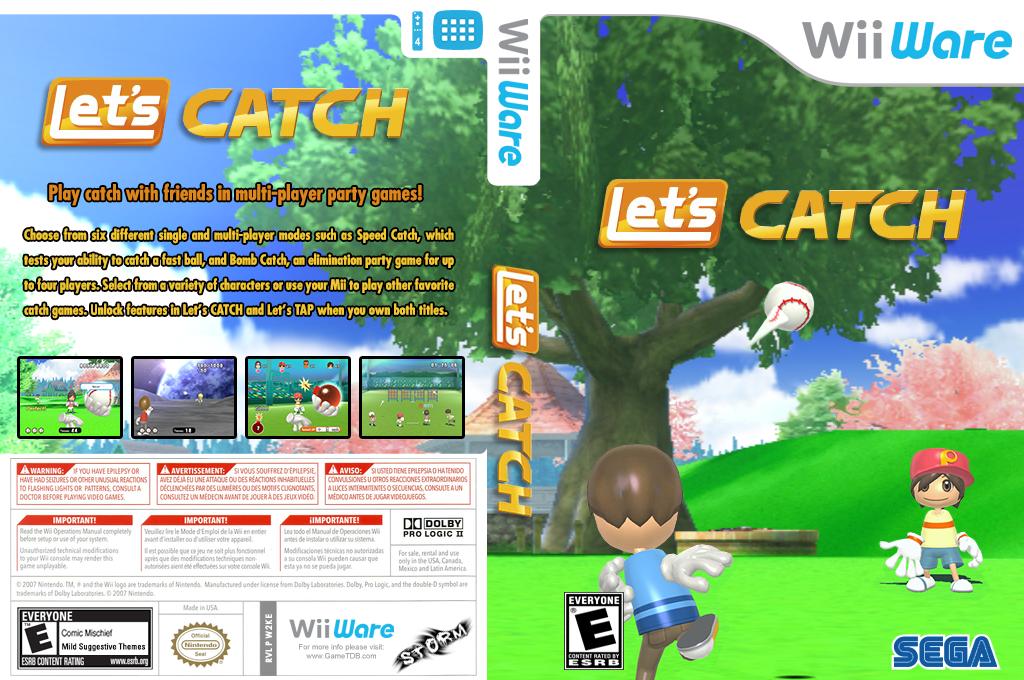 Let's Catch Wii coverfullHQ (W2KE)