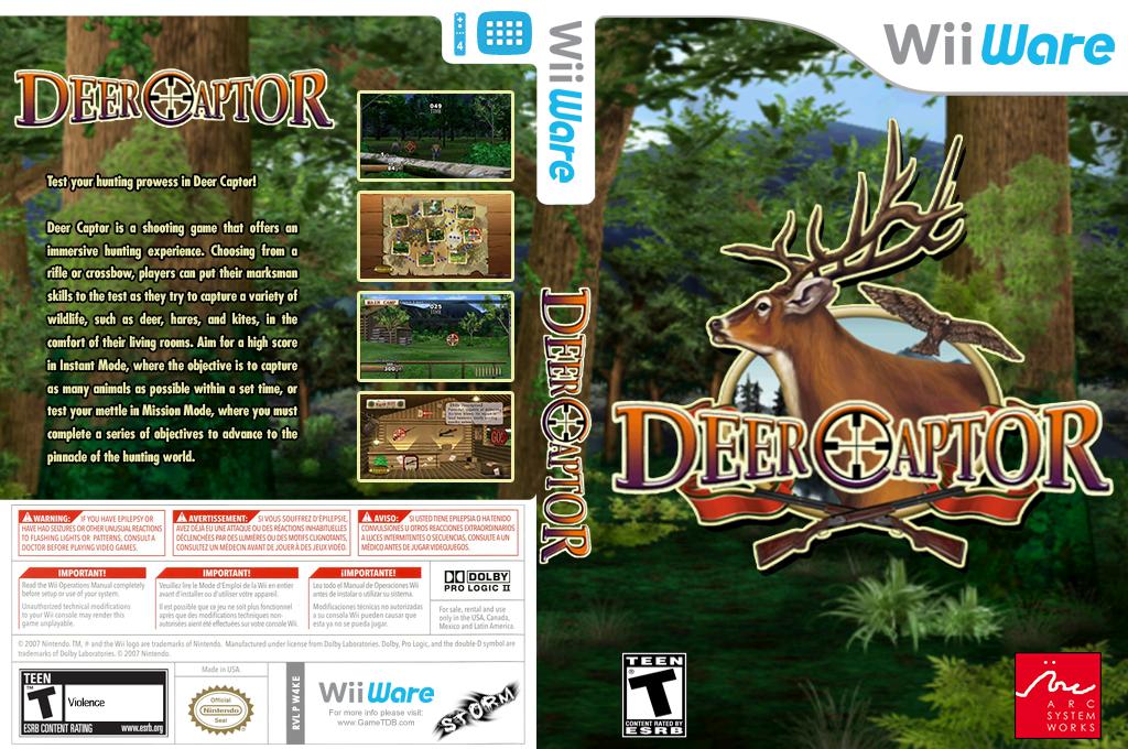 Deer Captor Wii coverfullHQ (W4KE)