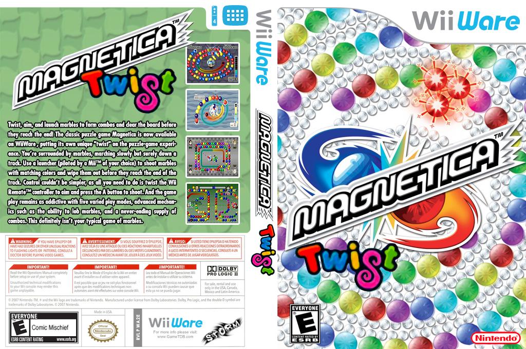 Magnetica Twist Wii coverfullHQ (WA2E)