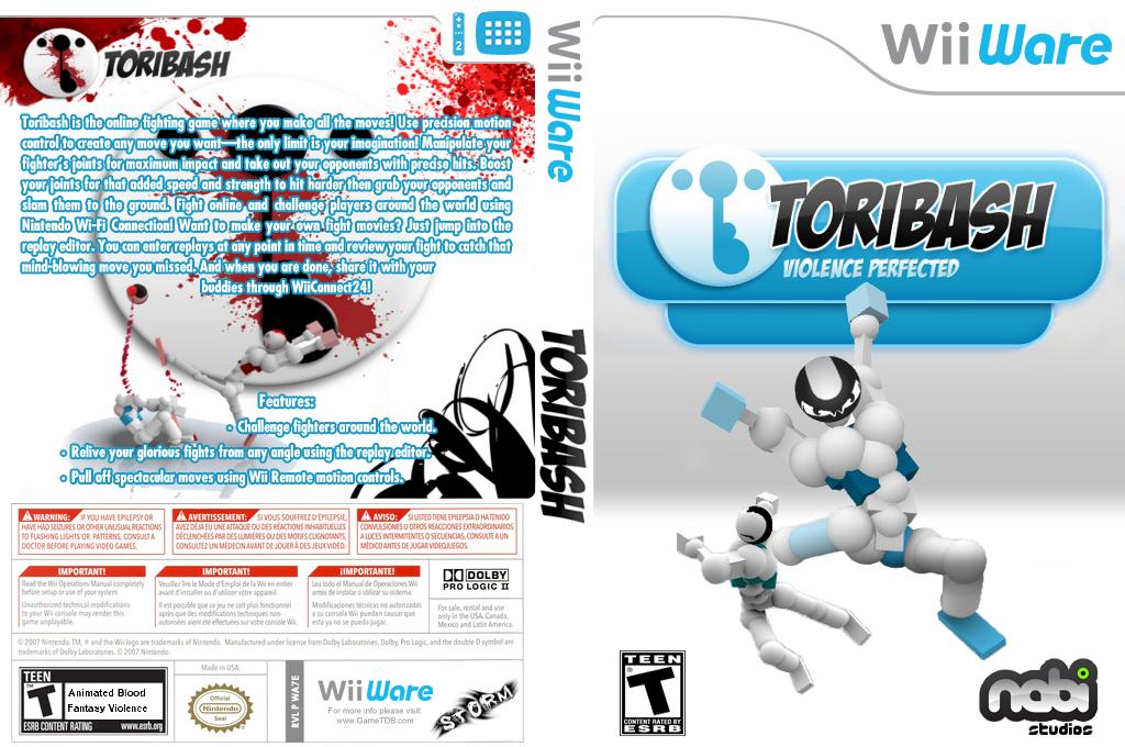 Toribash Wii coverfullHQ (WA7E)