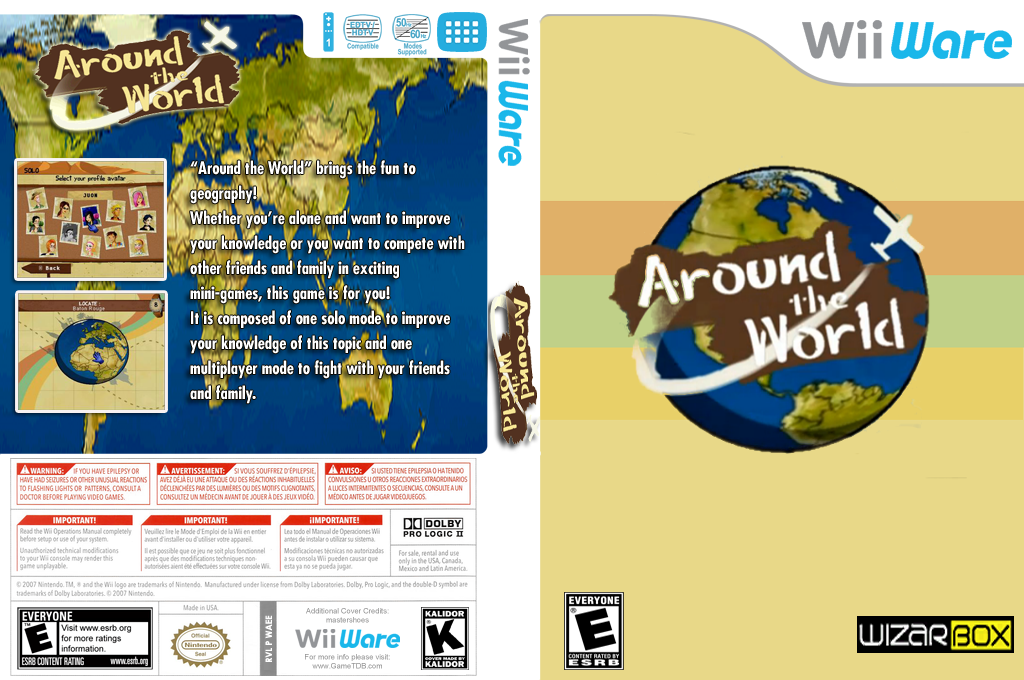 Around The World Wii coverfullHQ (WAEE)