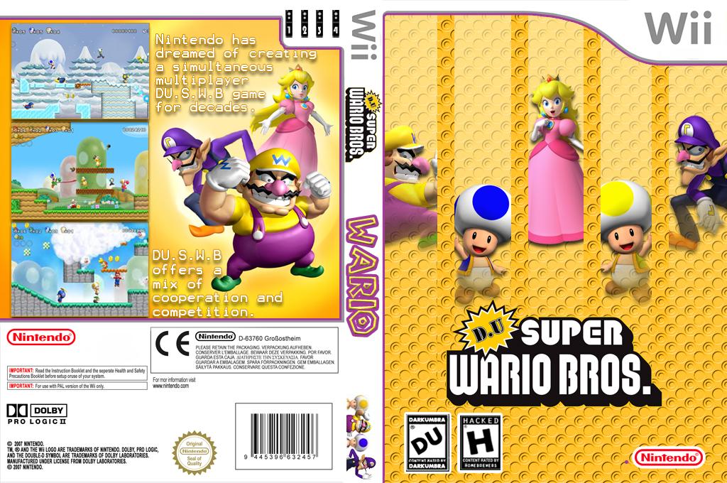 DU Super Wario Bros. Wii coverfullHQ (WARE01)