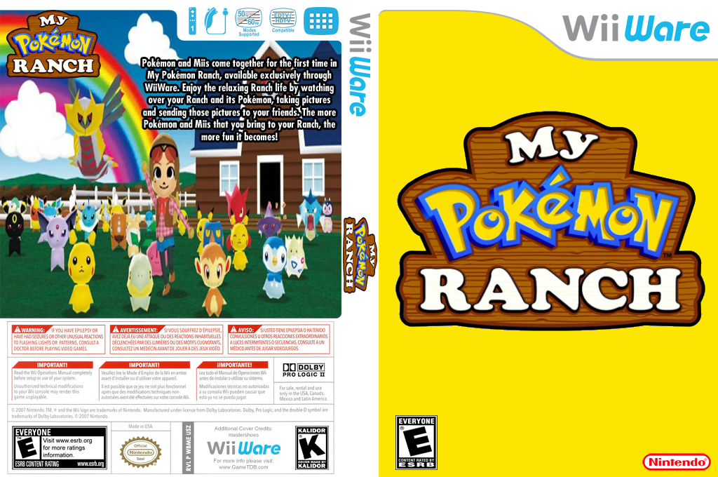 My Pokémon Ranch Wii coverfullHQ (WBME)