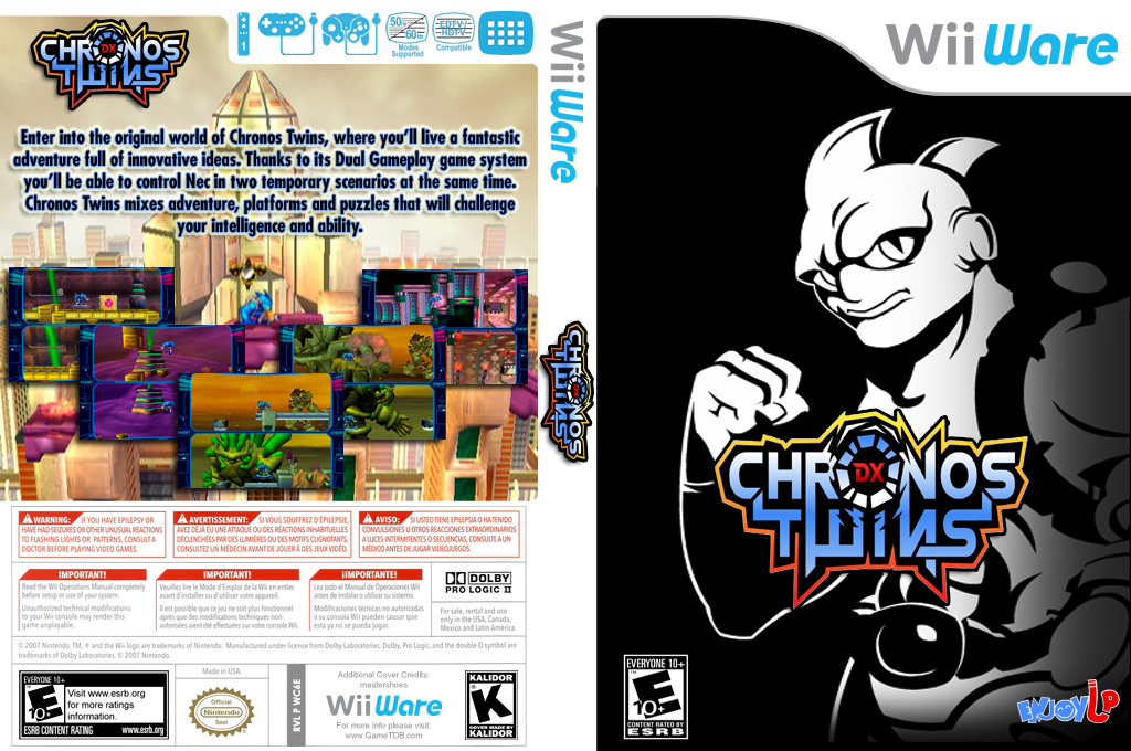Chronos Twins DX Wii coverfullHQ (WC6E)