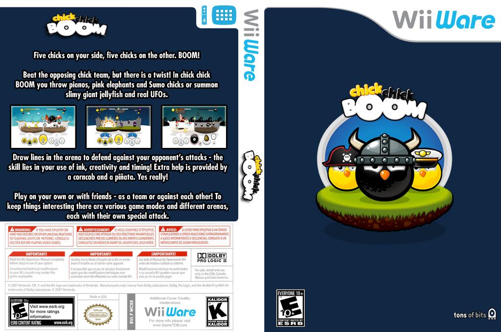 chick chick BOOM Wii coverfullHQ (WCKE)
