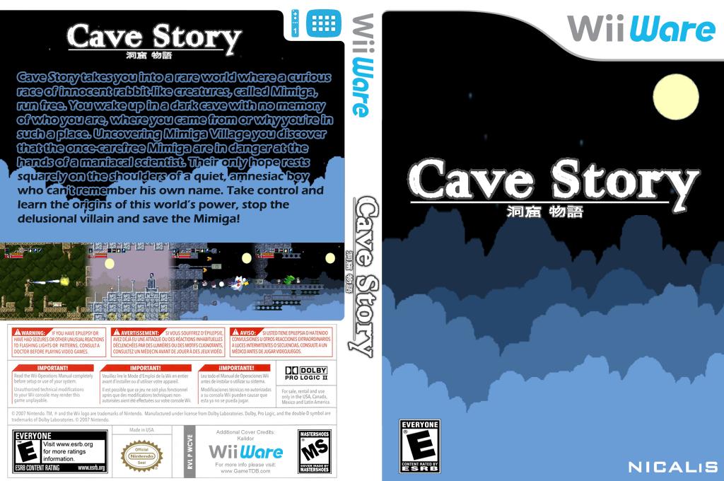 Cave Story Wii coverfullHQ (WCVE)