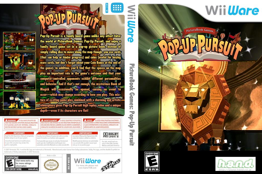 PictureBook Games: Pop-Up Pursuit Wii coverfullHQ (WETE)