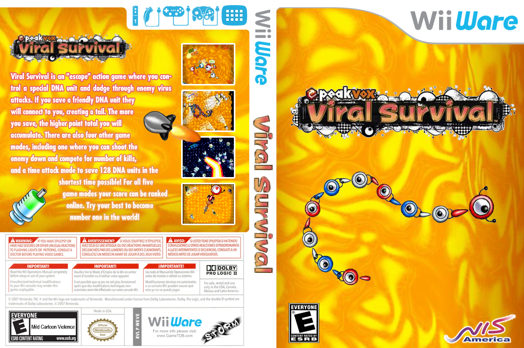 Viral Survival Wii coverfullHQ (WEVE)