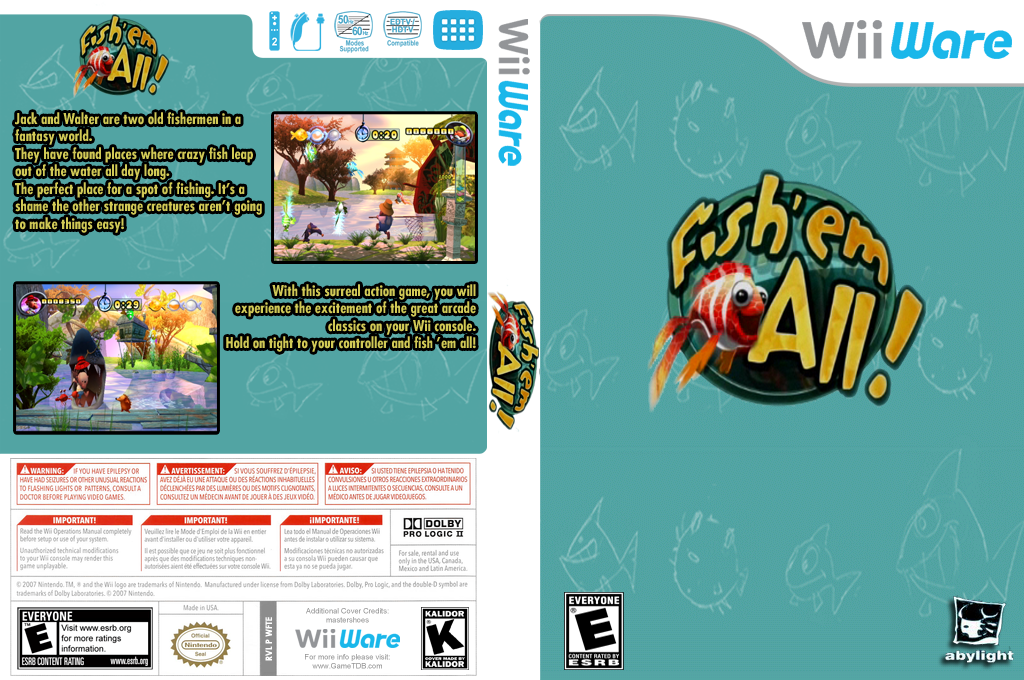 Fish 'em All Wii coverfullHQ (WFTE)