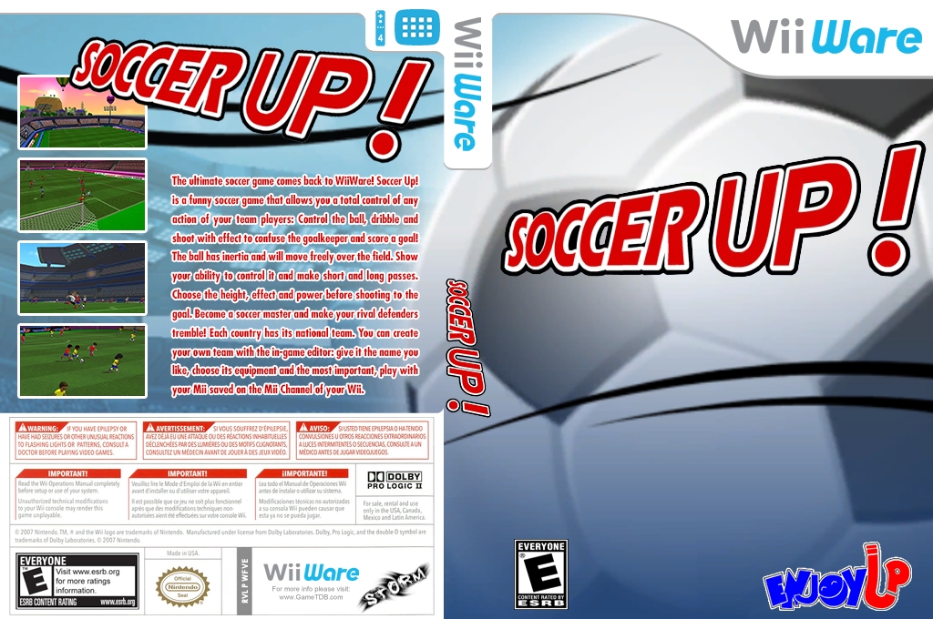 Soccer Up Wii coverfullHQ (WFVE)