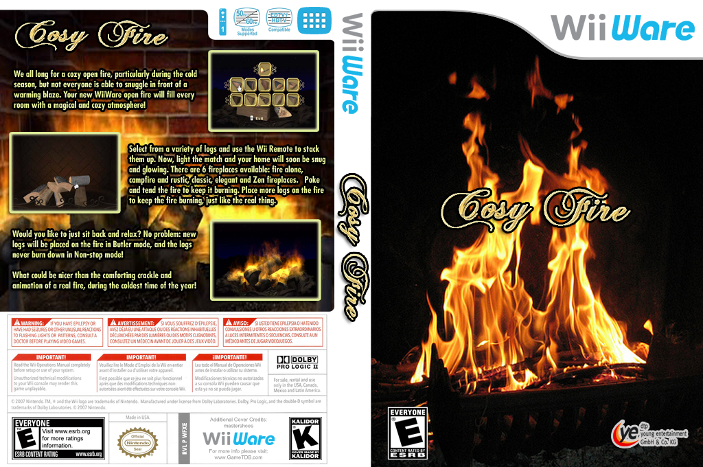 Cosy Fire Wii coverfullHQ (WFXE)