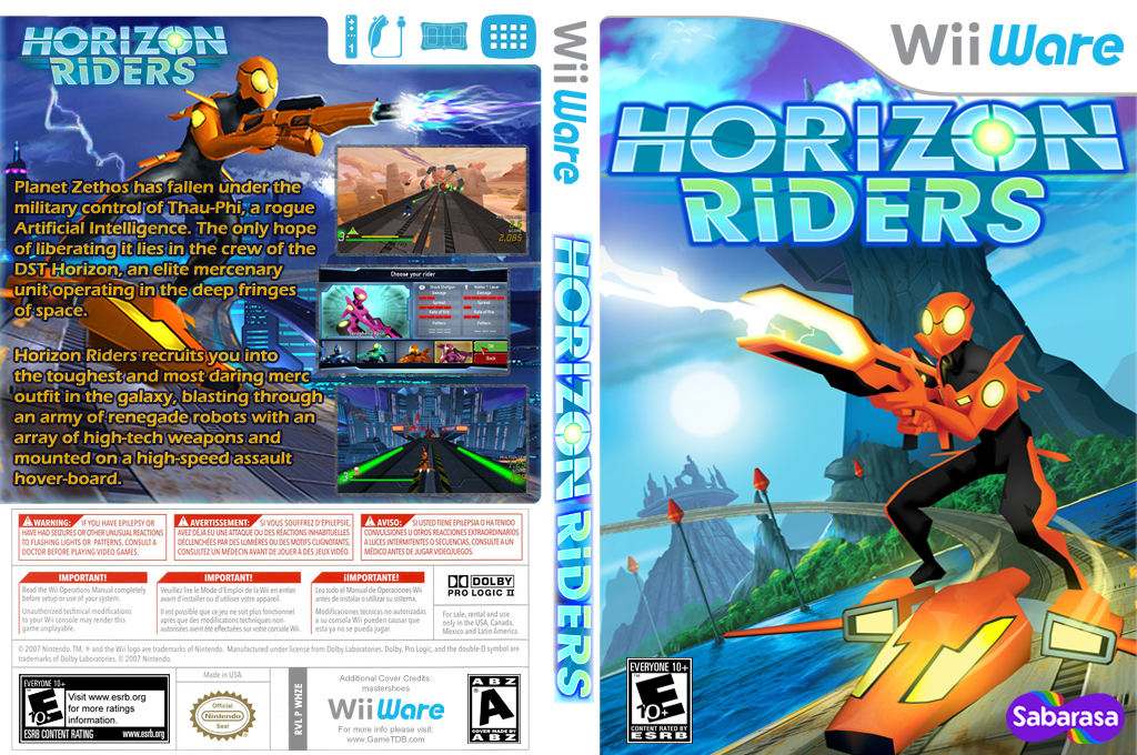 Horizon Riders Wii coverfullHQ (WHZE)