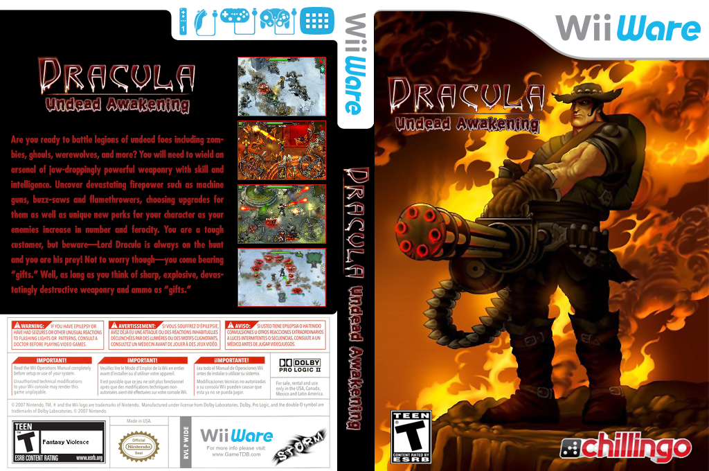Dracula: Undead Awakening Wii coverfullHQ (WIDE)