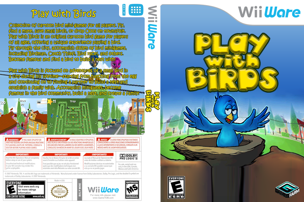 Play with Birds Wii coverfullHQ (WIHE)