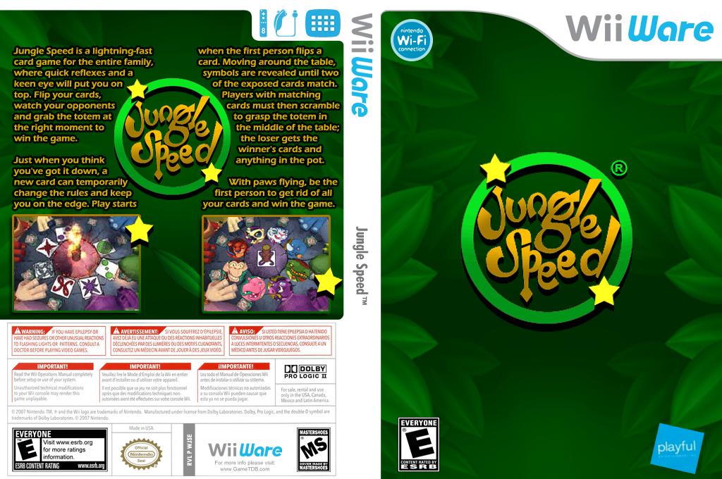 Jungle Speed Wii coverfullHQ (WJSE)