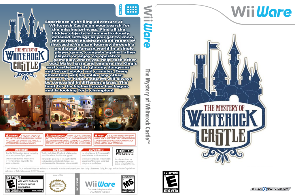 The Mystery of Whiterock Castle Wii coverfullHQ (WKIE)