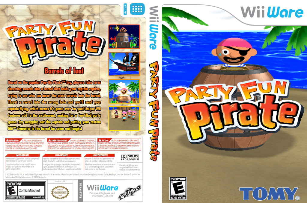 Party Fun Pirate Wii coverfullHQ (WKKE)