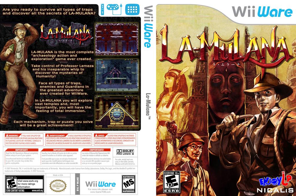 La-Mulana Wii coverfullHQ (WLME)