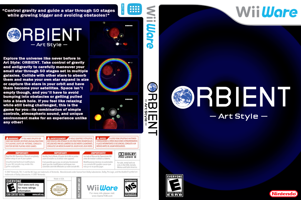 Art Style: ORBIENT Wii coverfullHQ (WOBE)
